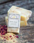 Handmade soap ginger ylang ylang patchouli
