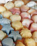 handmade gift soap, seashell soap, Nourish Naturally, handmade soap gift pack