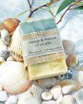 Beach theme sea shells wedding favours