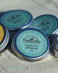 Nourish Naturally peppermint lip balm natural lip balm North Stradbroke Island beeswax