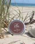 Natural Zinc Cream Straddie Zinc made on North Stradbroke Island Nourish Naturally tan skin
